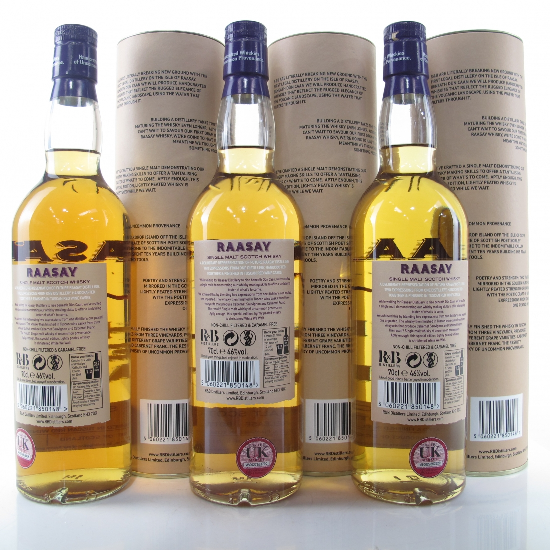 Raasay While We Wait 1st-3rd Edition / 3 x 70cl