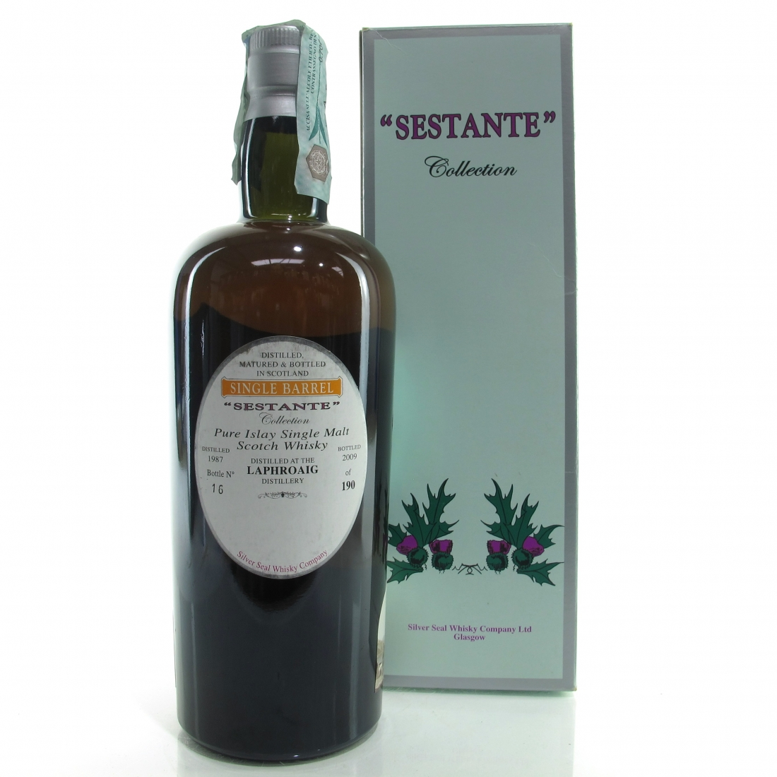 Laphroaig 1987 Silver Seal 22 Year Old / Sestante