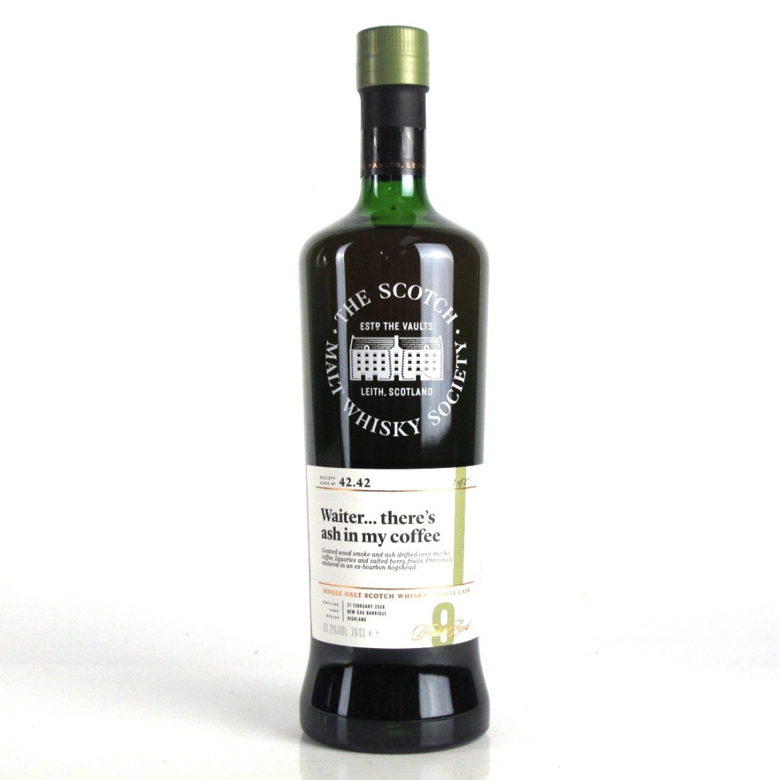 Ledaig 2008 SMWS 9 Year Old 42.42