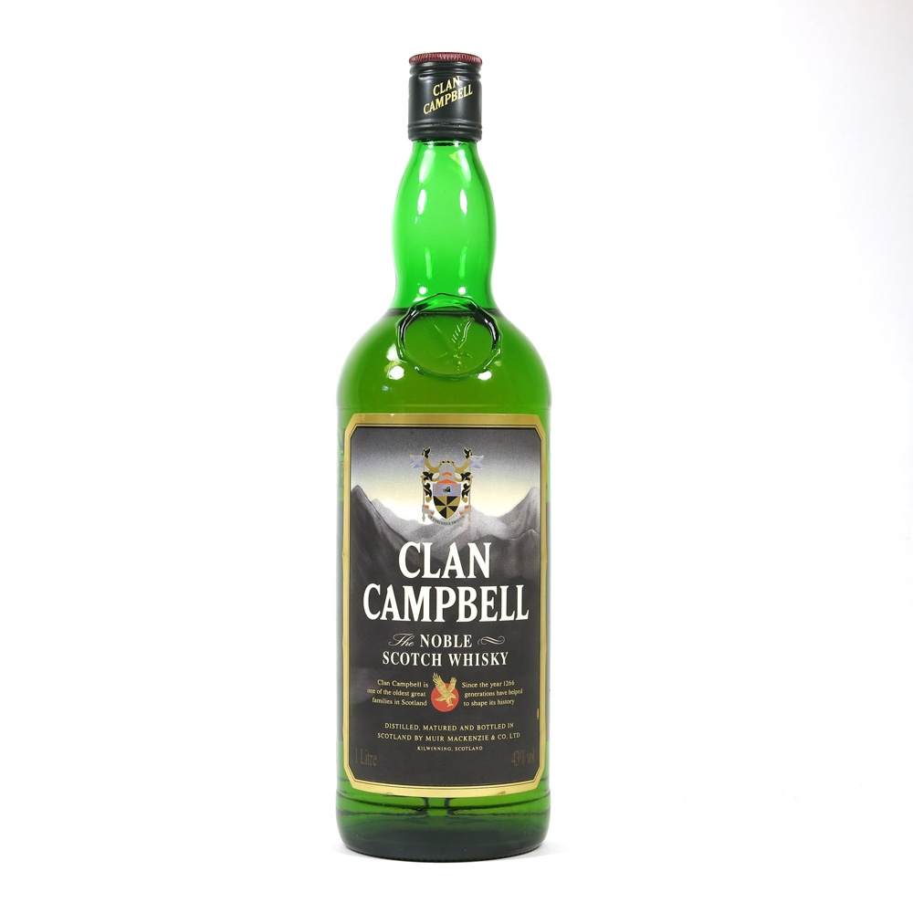 Clan Campbell Noble Scotch Whisky Front