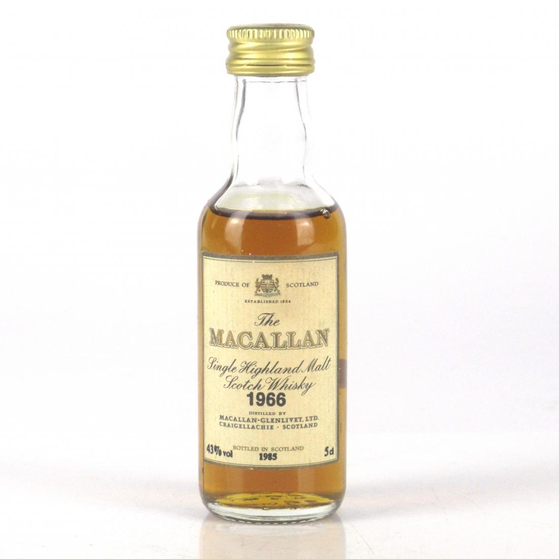 Macallan 18 Year Old 1966 Miniature 5cl