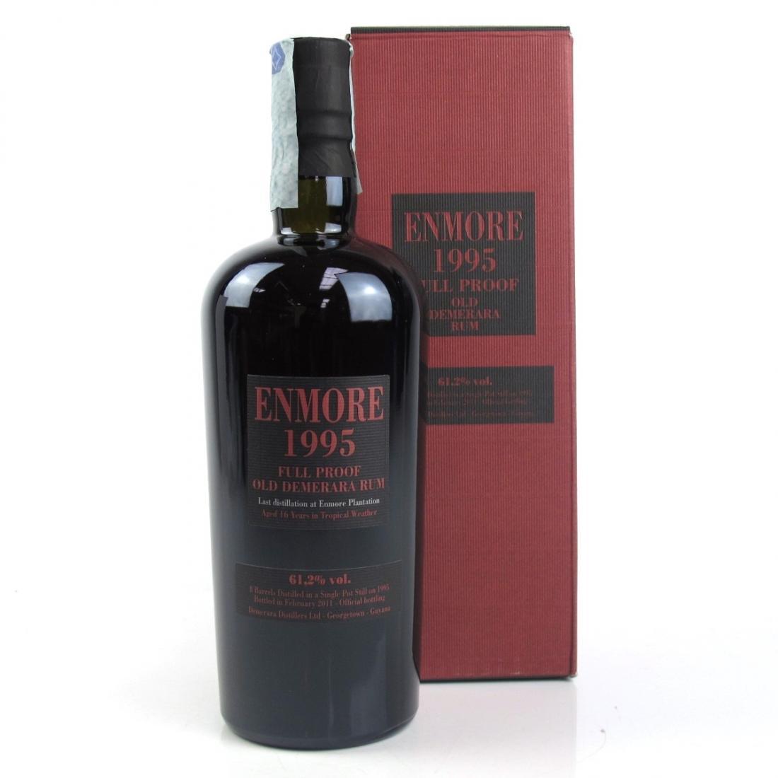 Enmore 1995 Full Proof Demerara 16 Year Old Rum