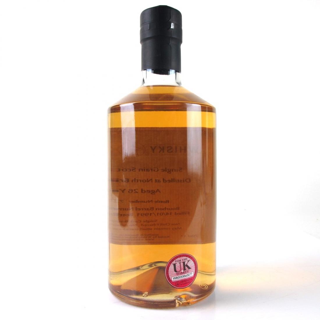 North British 1991 Whisky Broker 26 Year Old