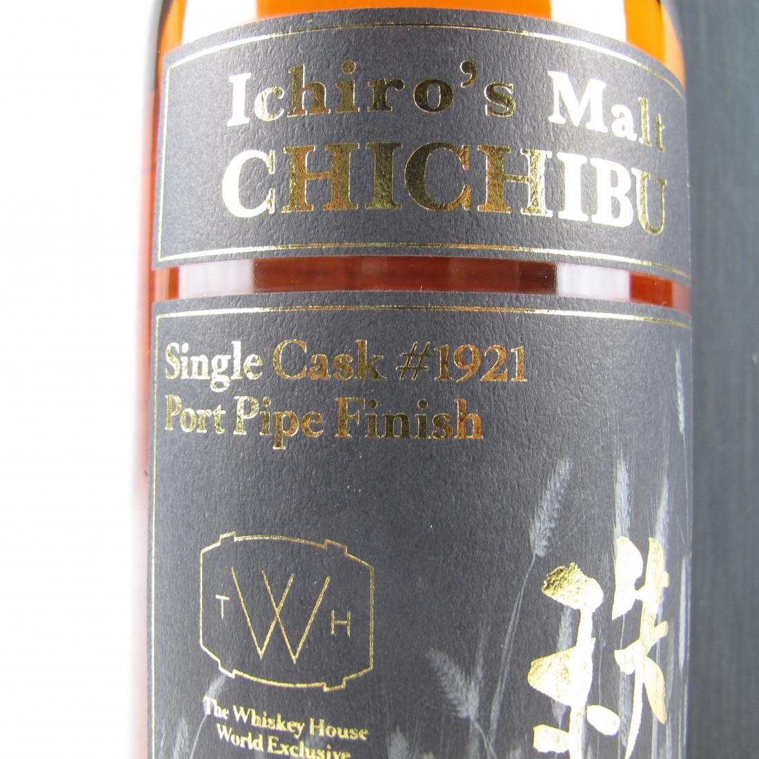 Chichibu 2009 Ichiro's Malt Port Pipe Single Cask #1921