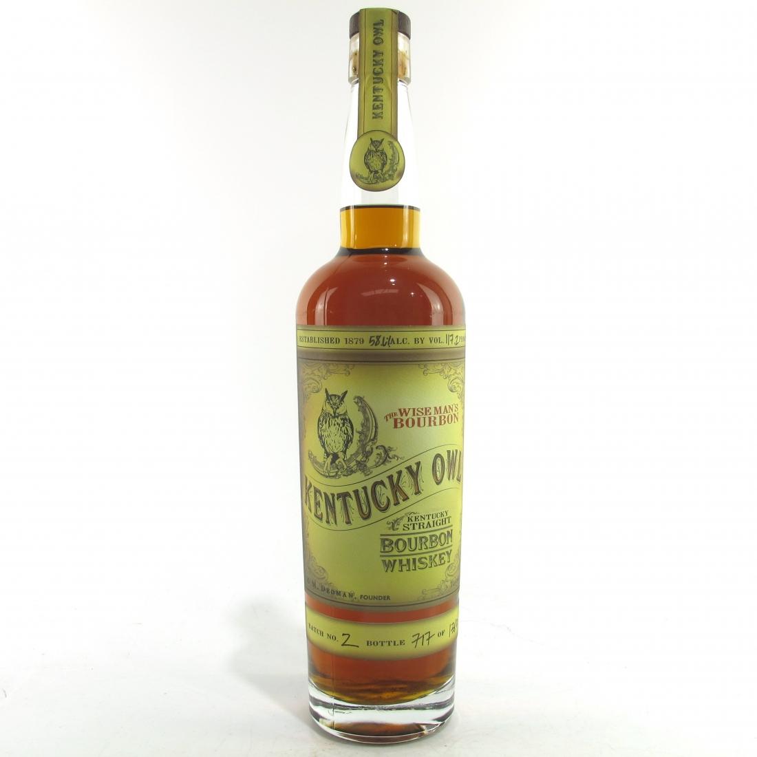 Kentucky Owl Straight Bourbon Batch #2