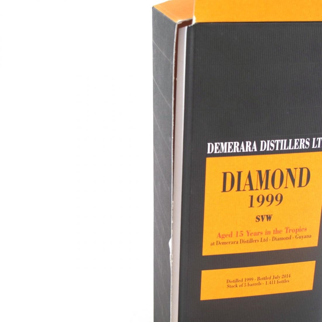 Diamond 1999 Demerara Distillers 15 Year Old Rum