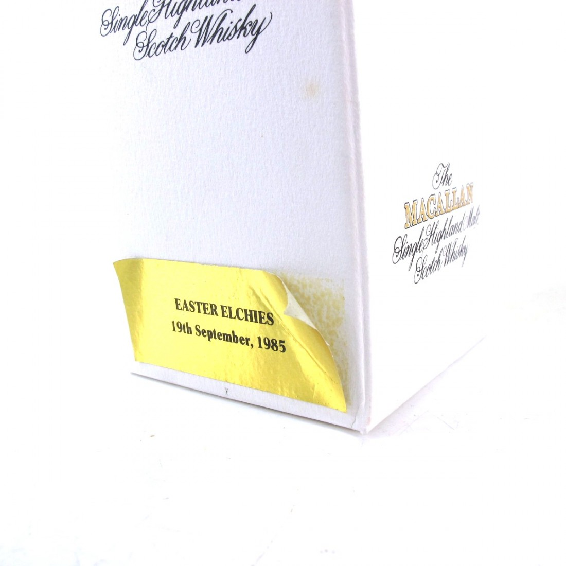 Macallan Special Reserve 1985 Easter Elchies