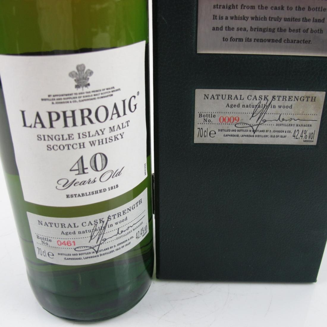 Laphroaig 40 Year Old