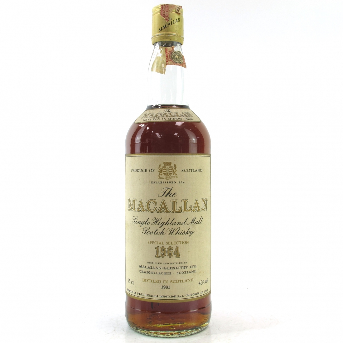 Macallan 1964 / Rinaldi Import