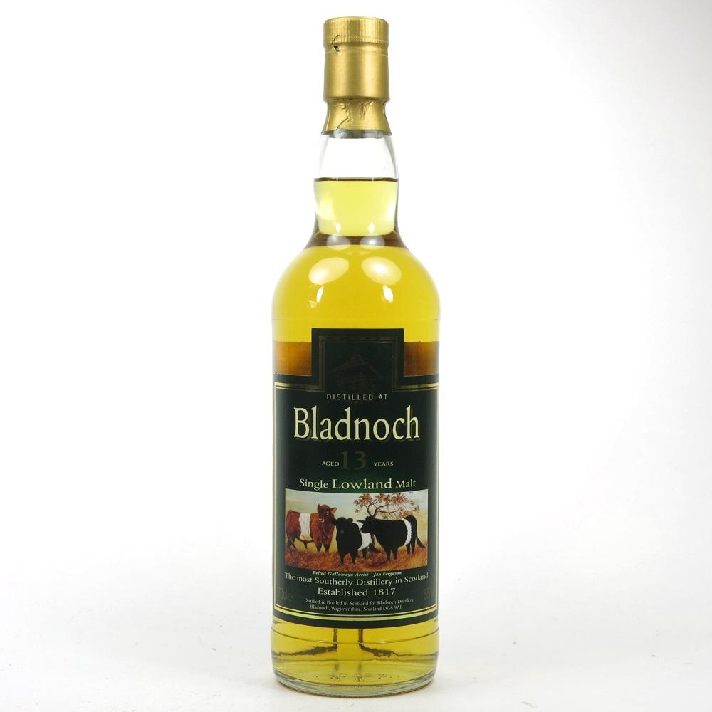 Bladnoch 13 Year Old / Beltie Label