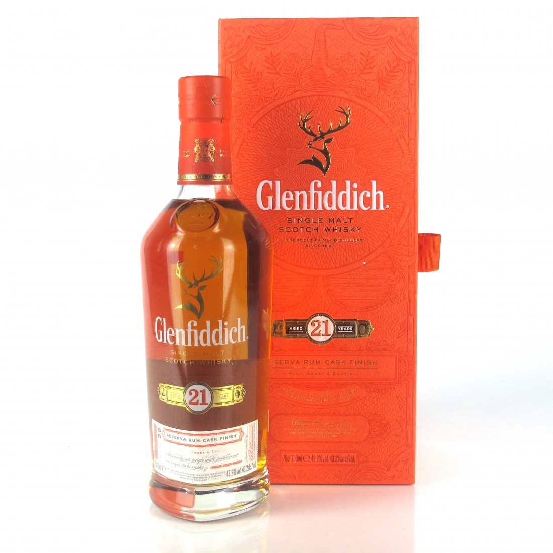 Glenfiddich 21 Year Old Reserva Rum Finish
