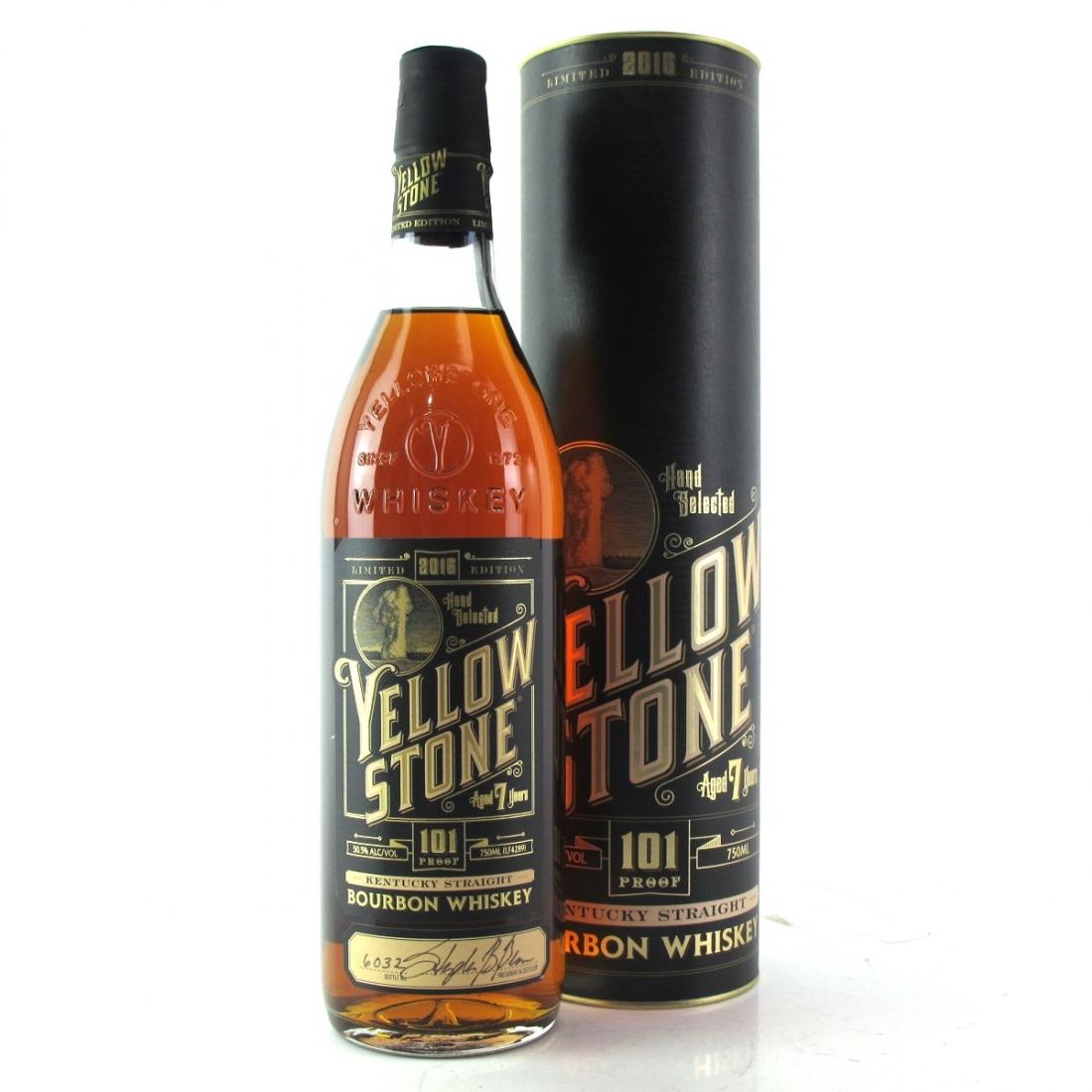 Yellowstone 7 Year Old Kentucky Straight Bourbon 101 Proof / 2016 Edition