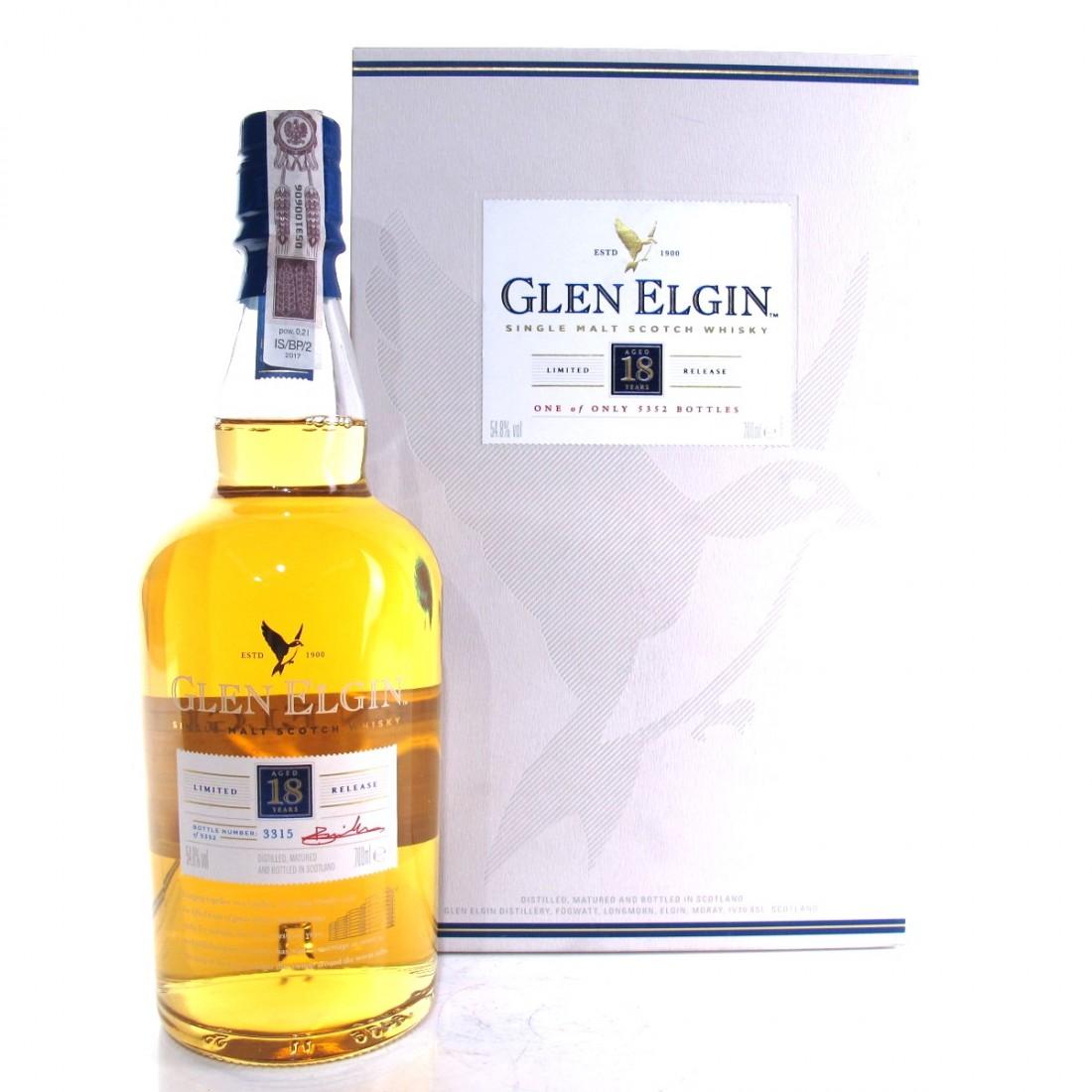 Glen Elgin 18 Year Old 2017 Release
