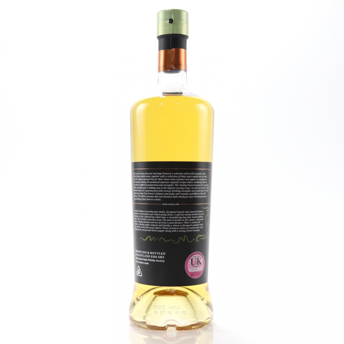 Peat Faerie 10 Year Old SMWS Blended Malt Batch 03