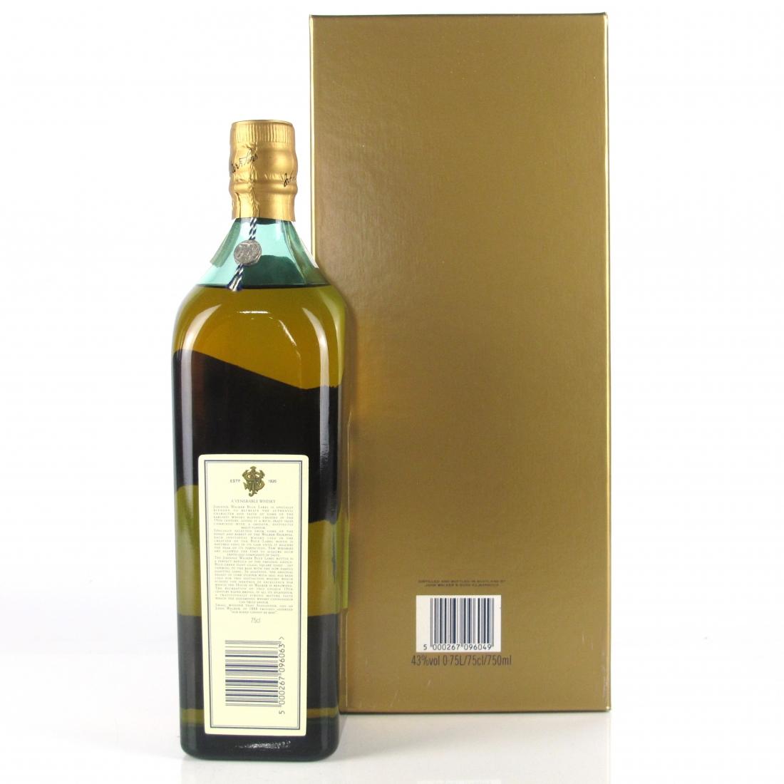 Johnnie Walker Blue Label 75cl / Venezuelan Import