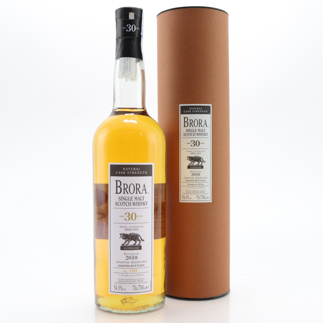 Brora 30 Year Old 2010 Release