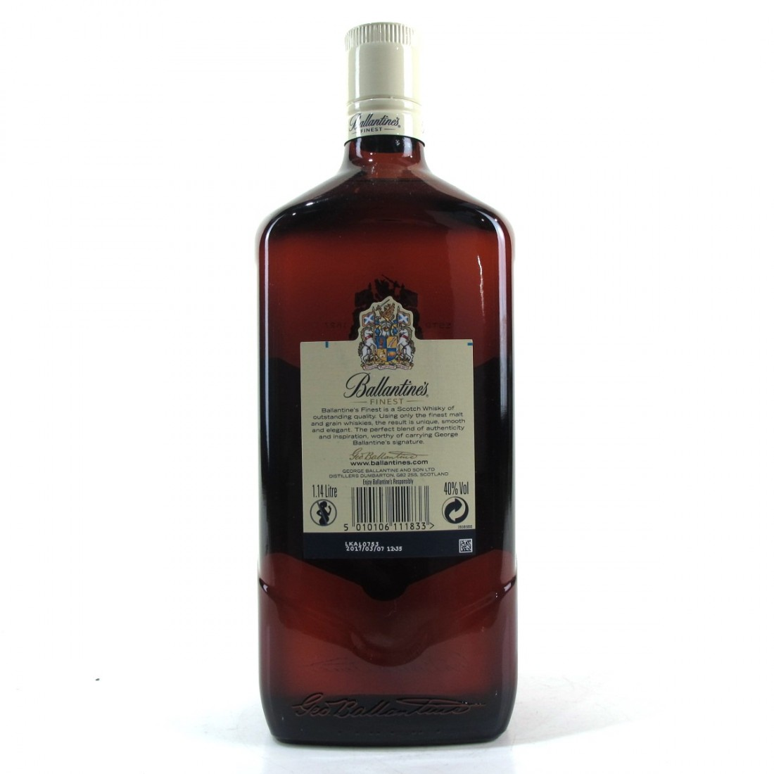 Ballantine's Finest Scotch Whisky 1.14 Litre