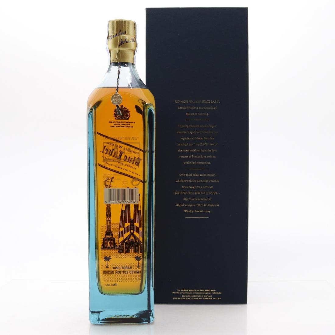 Johnnie Walker Blue Label Barcelona Limited Edition