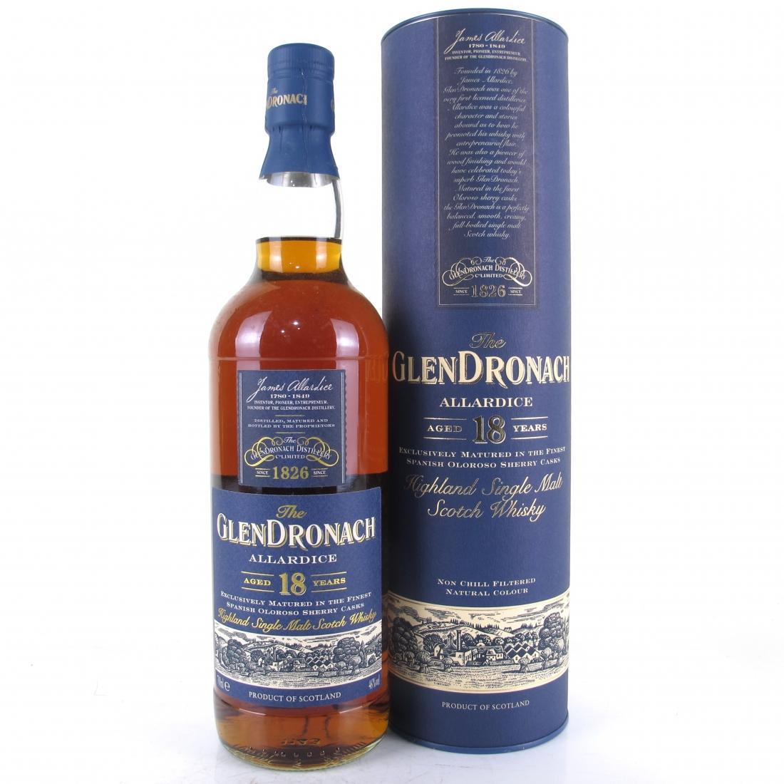 Glendronach 18 Year Old Allardice / Lot #3