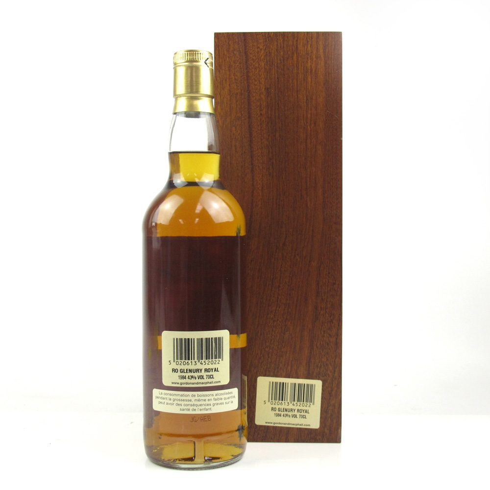 Glenury Royal 1984 Gordon and MacPhail Rare Old