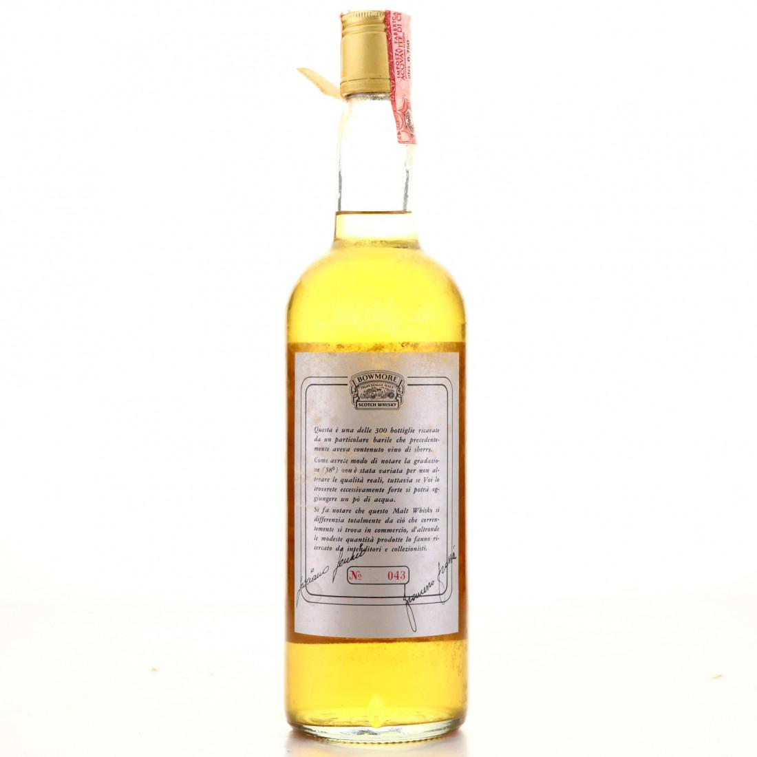 Bowmore 1969 Single Cask #6635 for Edoardo Giaccone/ Fecchio & Frassa Import