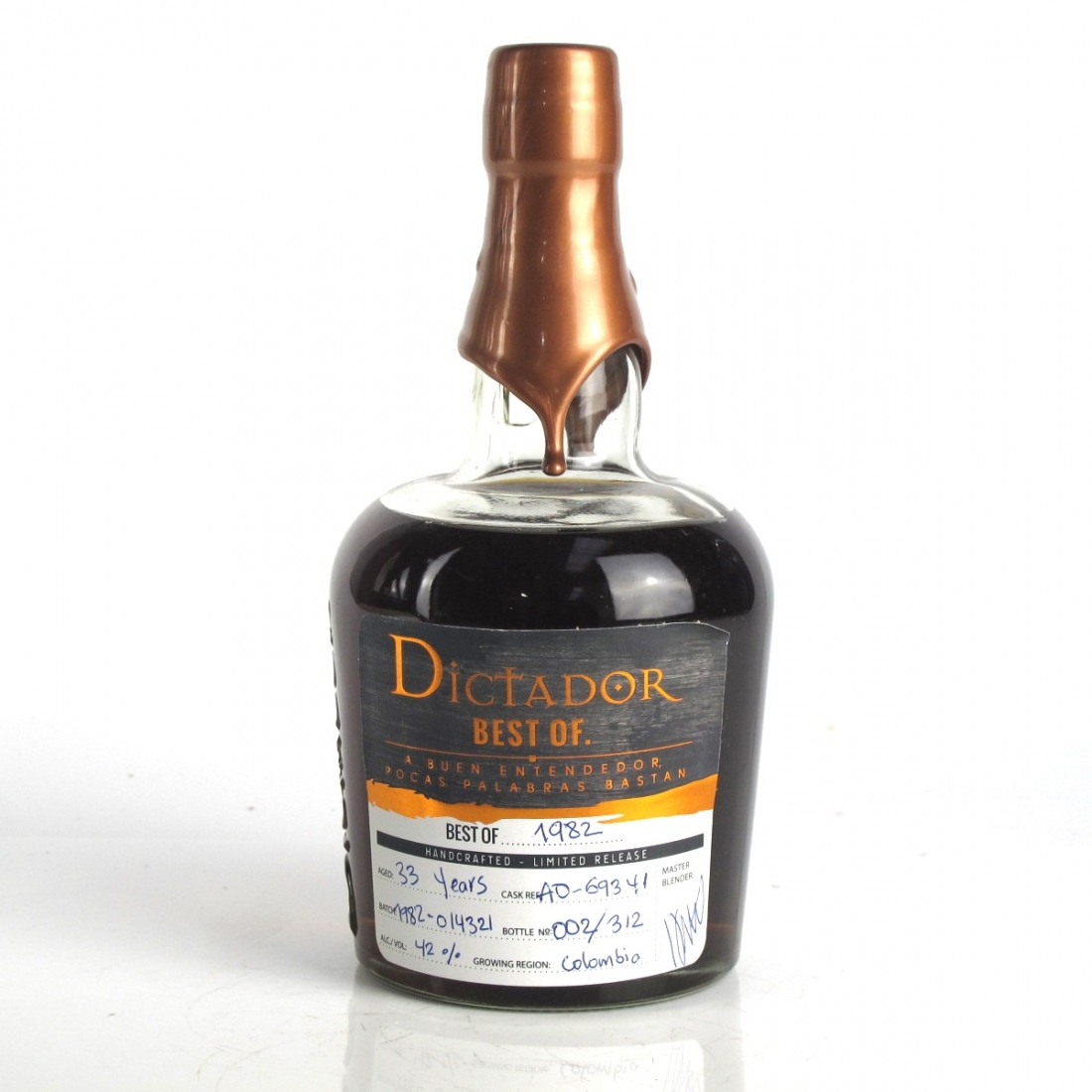 Dictador Best Of 1982 Limited Release 33 Year Old