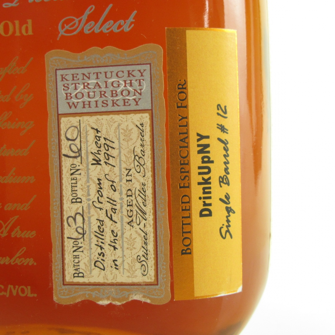 Jefferson's 1991 Presidential Select 18 Year Old / DrinkUpNY