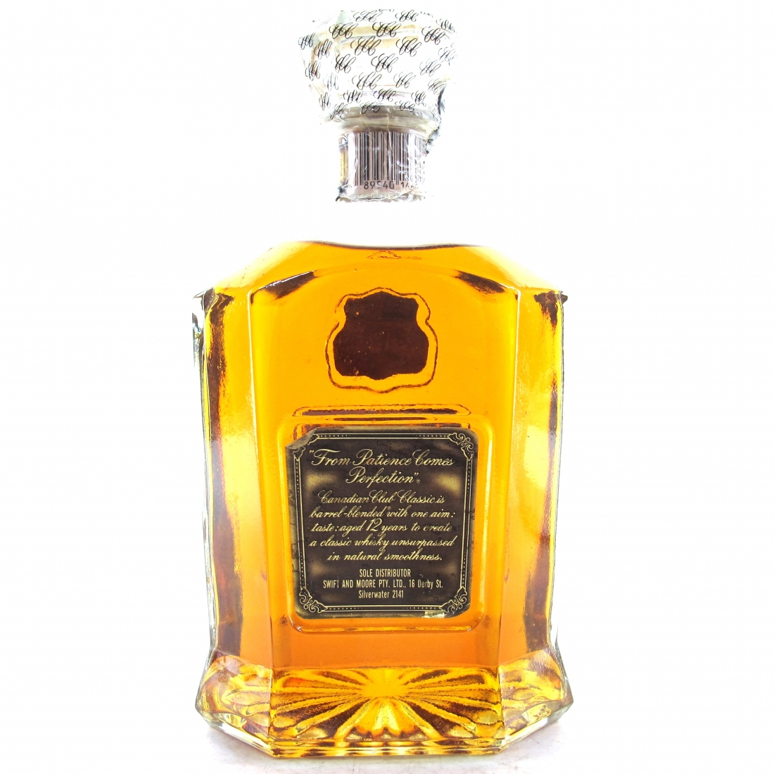 Canadian Club 1979 Classic 12 Year Old