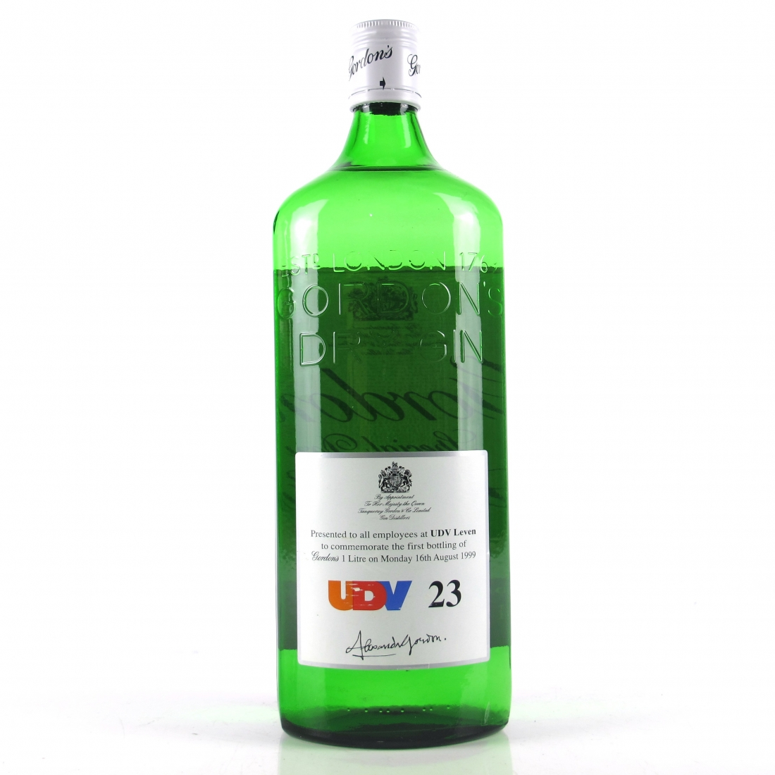 Gordon's Special Dry London Gin First 1 Litre / UDV Leven