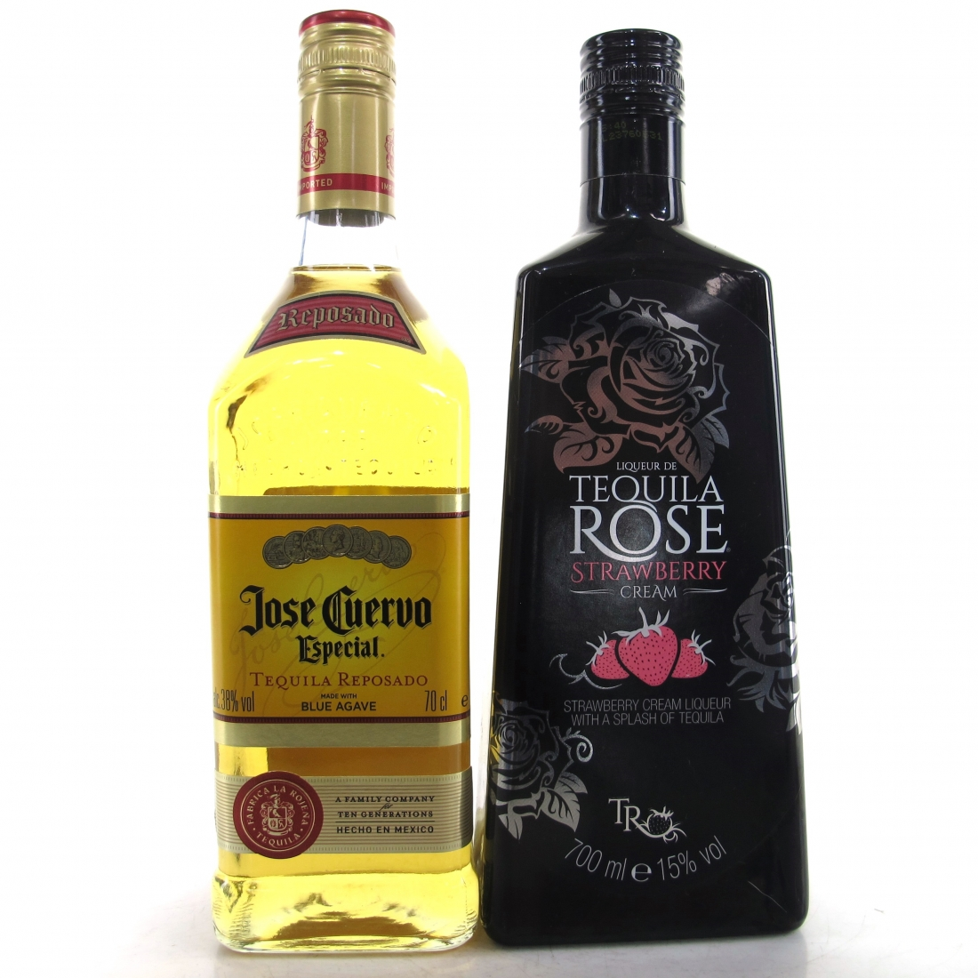 Jose Cuervo & Tequila Rose Strawberry Cream