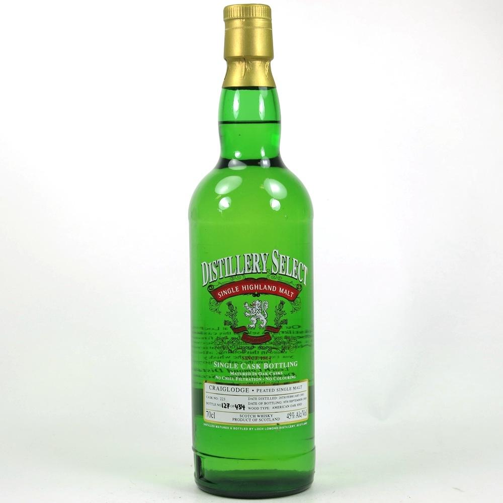 Loch Lomond / Craiglodge 2001 Distillery Select