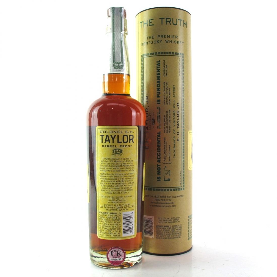 Colonel E.H Taylor Barrel Proof / 2012 Release
