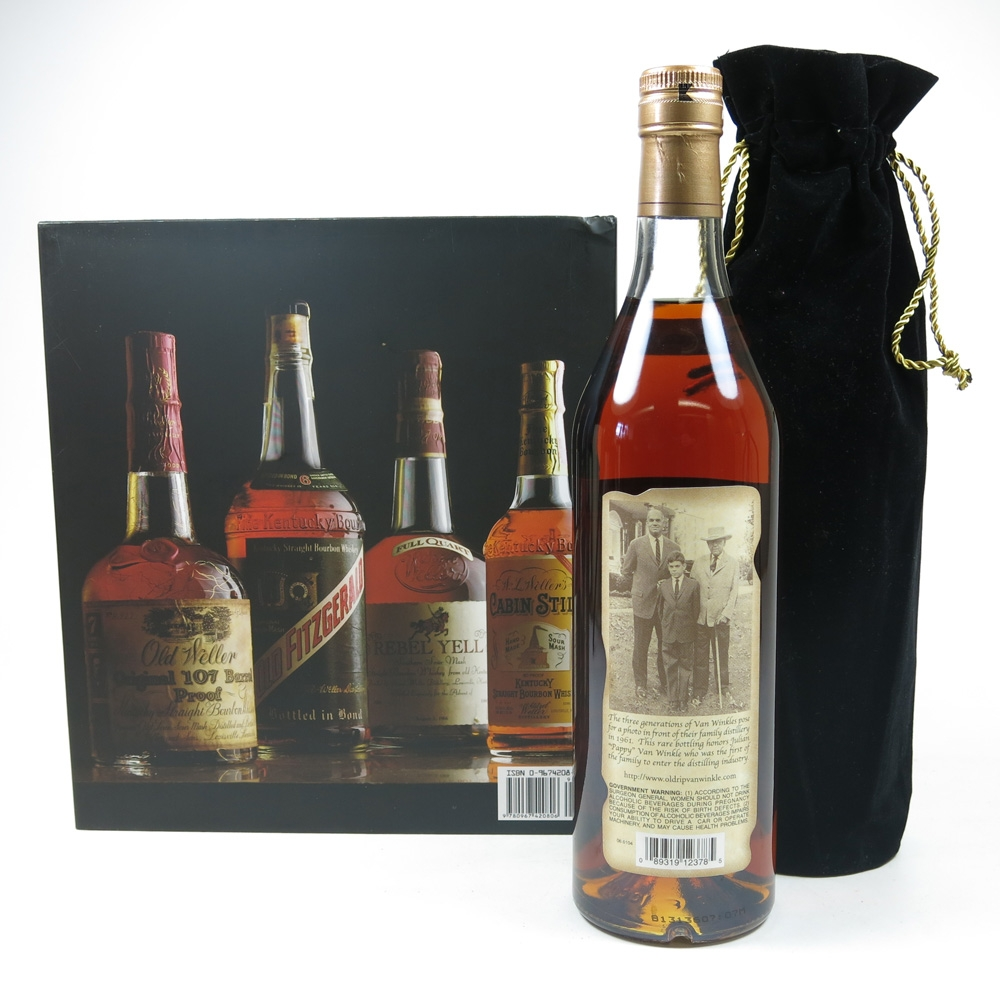 Pappy Van Winkle Family Reserve 23 Year Old Including Book