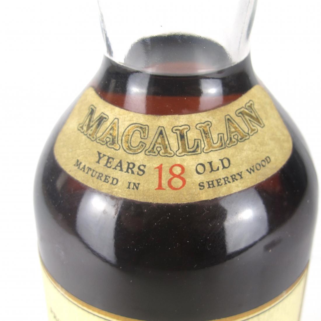 Macallan 18 Year Old 1974 / Giovinetti & Figli Import