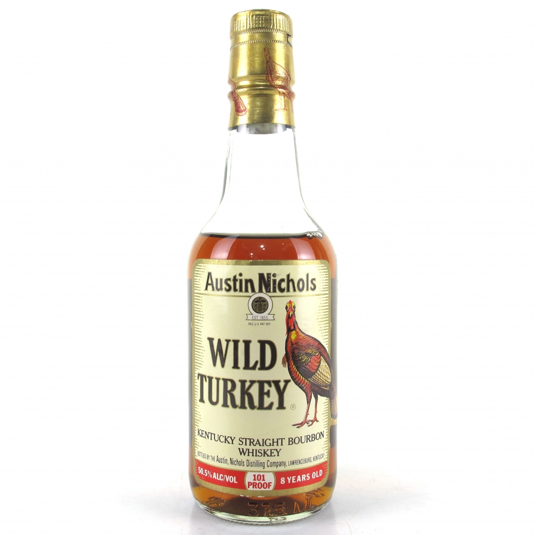 Wild Turkey 8 Year Old 101 Proof 37.5cl 1980s