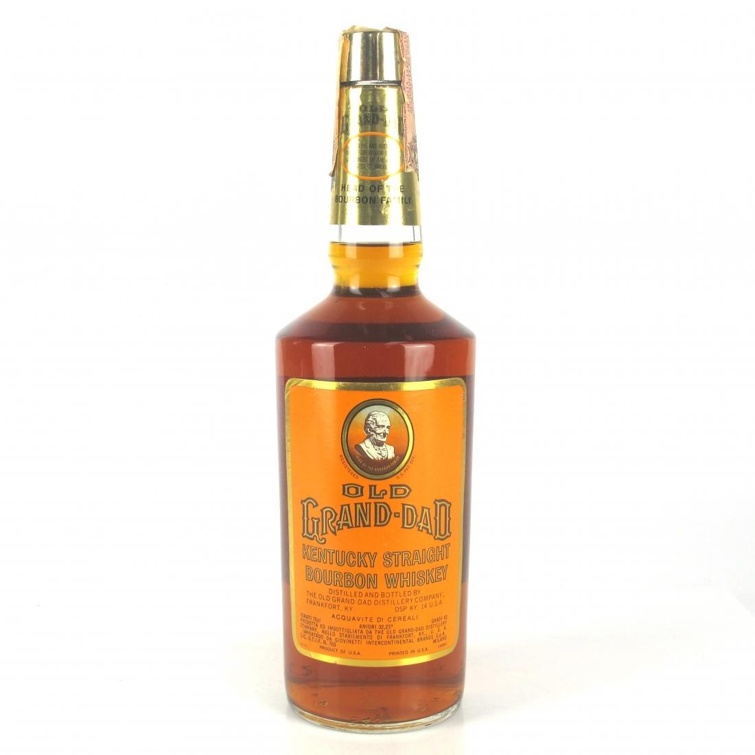 Old Grand-Dad Bourbon 1970s / Giovinetti Import