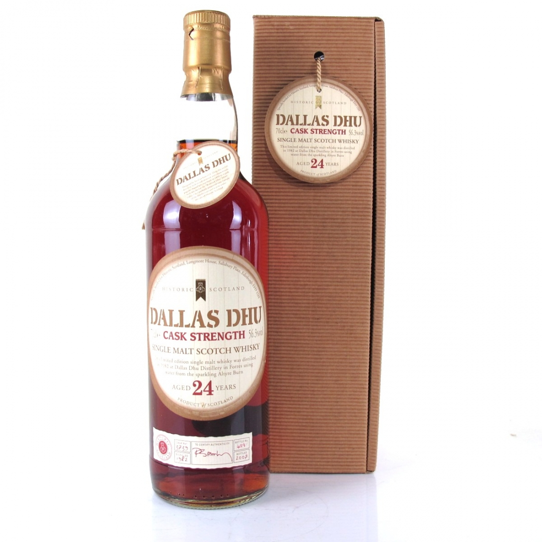 Dallas Dhu 1982 Historic Scotland 24 Year Old Cask Strength