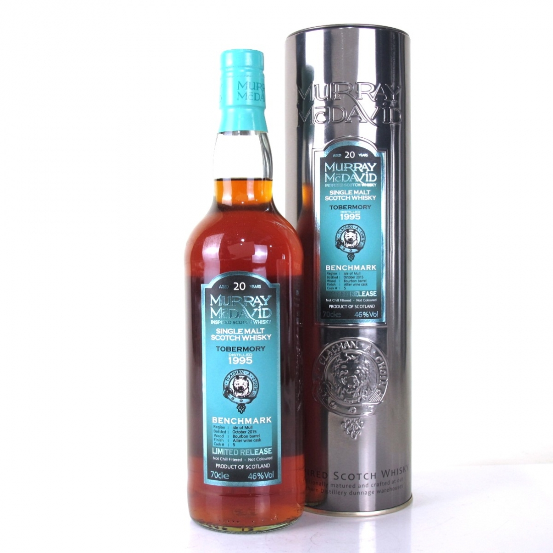 Tobermory 1995 Murray McDavid 20 Year Old