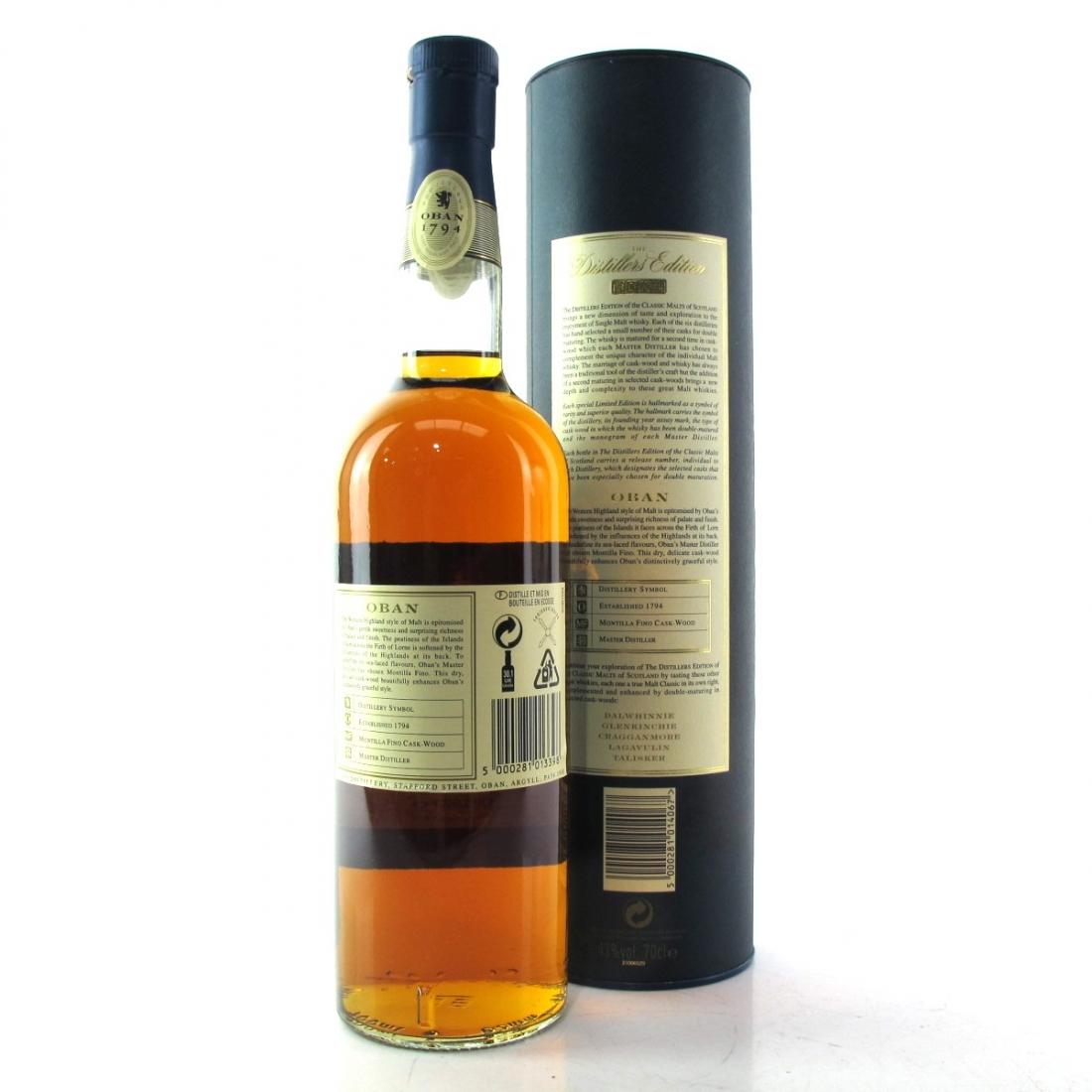 Oban 1989 Distillers Edition