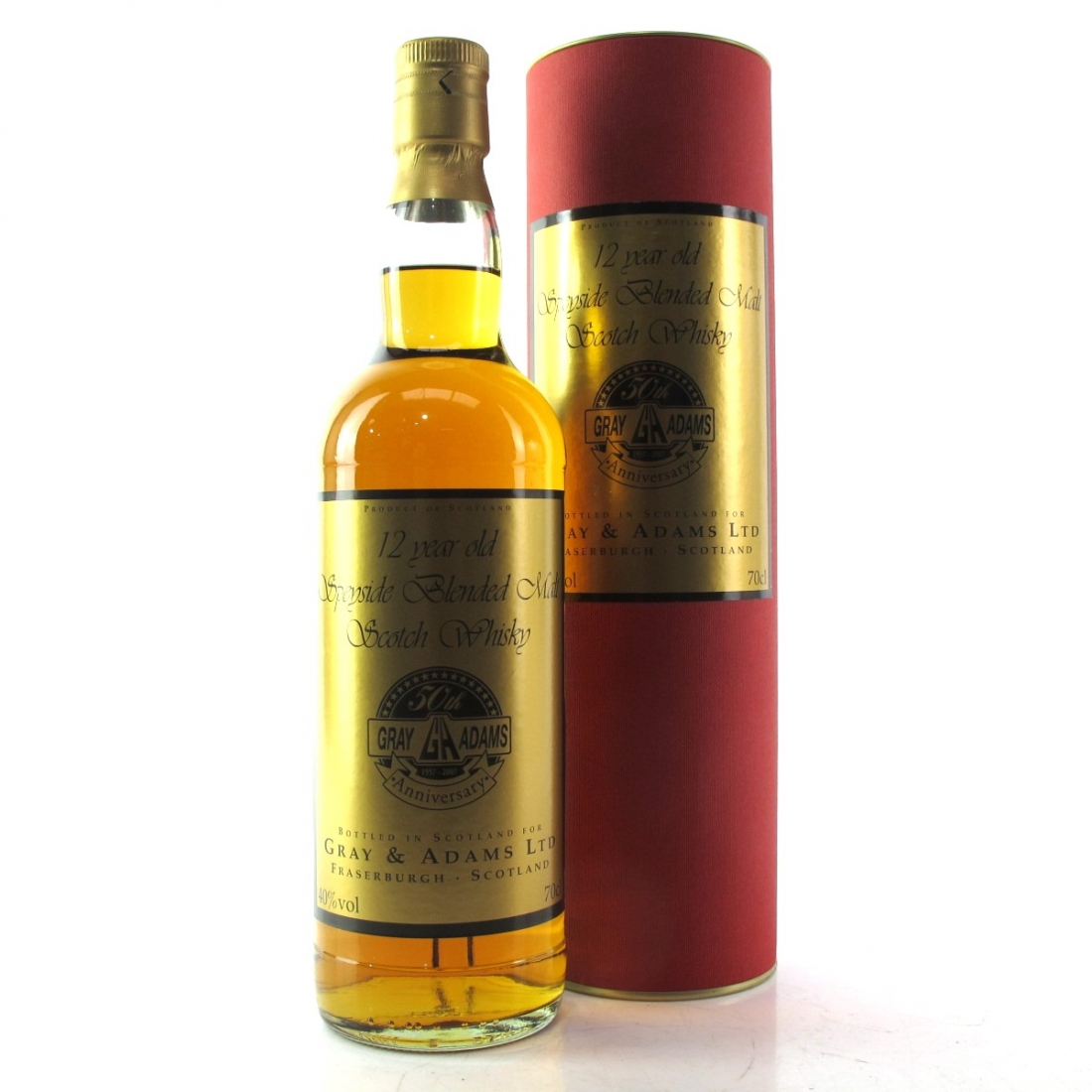 Gray and Adams 12 Year Old Speyside Blended Malt