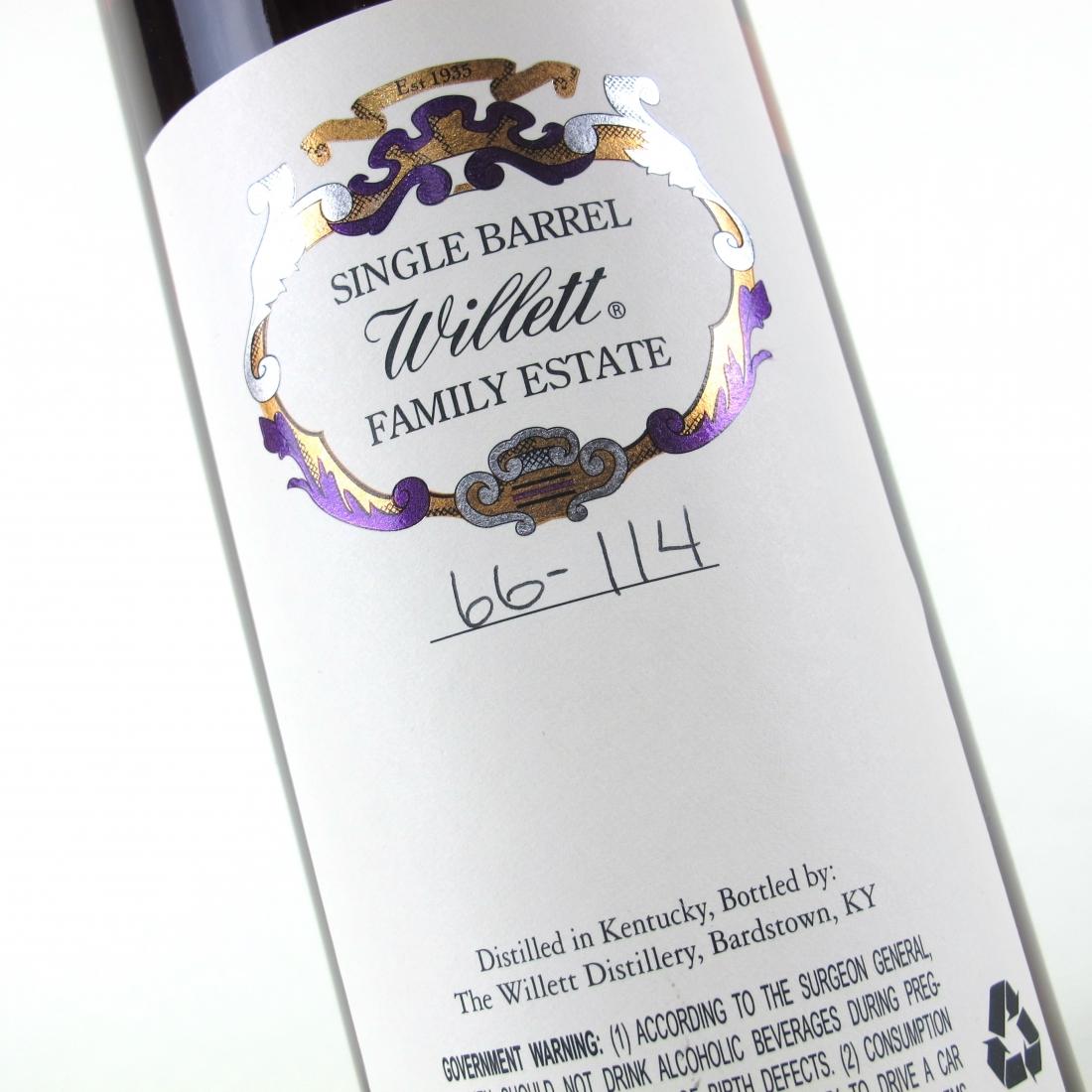Willett Family Estate 14 Year Old Single Barrel Bourbon #819