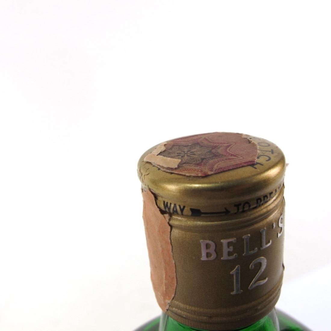Bell's 12 Year Old De Luxe 1970s