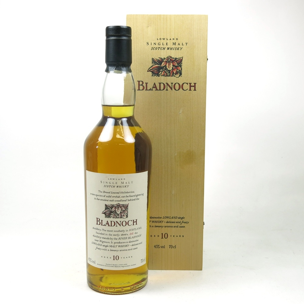 Bladnoch 10 Year Old Flora and Fauna Wooden Boxed