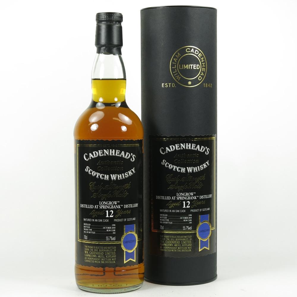 Longrow 1998 Cadenhead's 12 Year Old