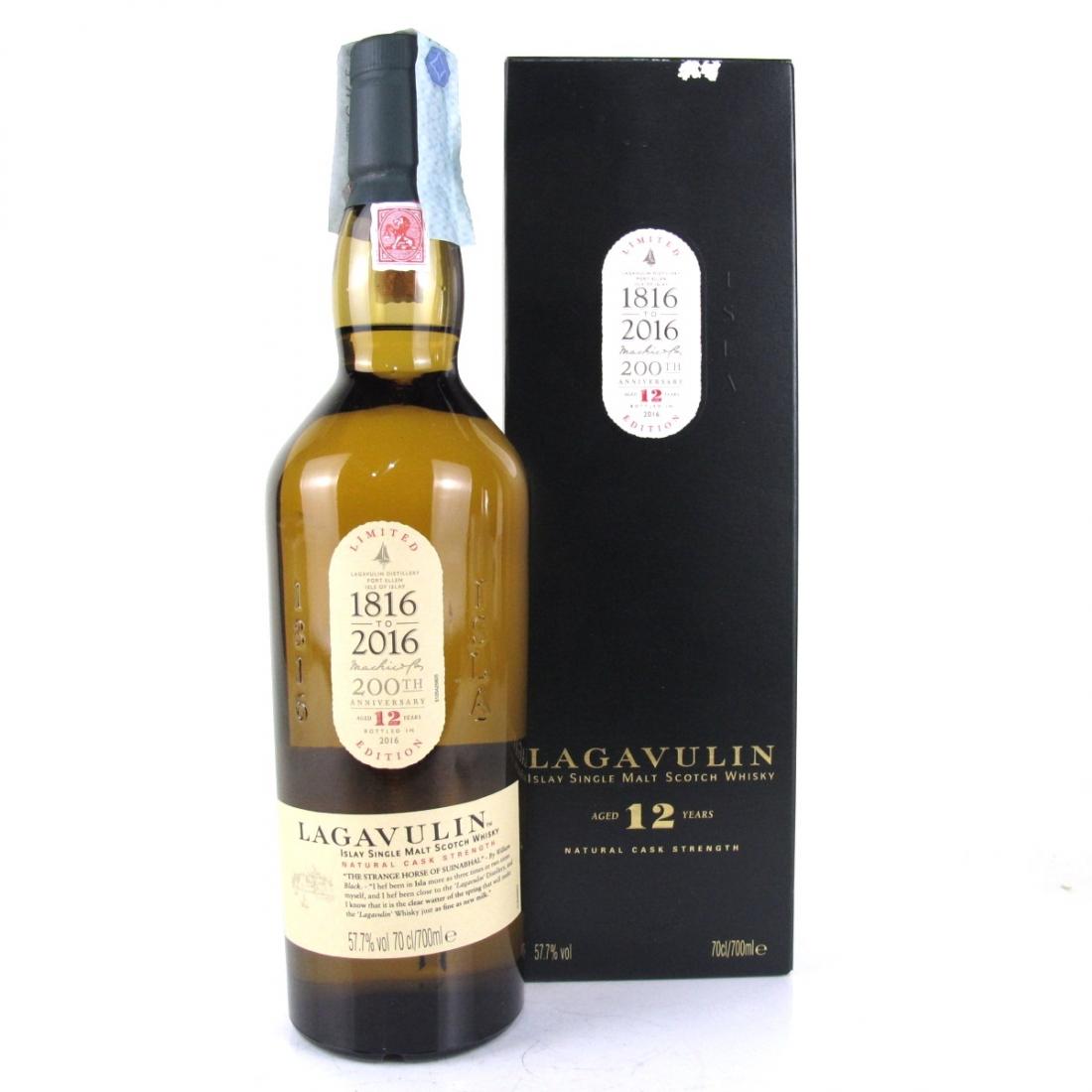 Lagavulin 12 Year Old 2016 Edition / Bicentenary