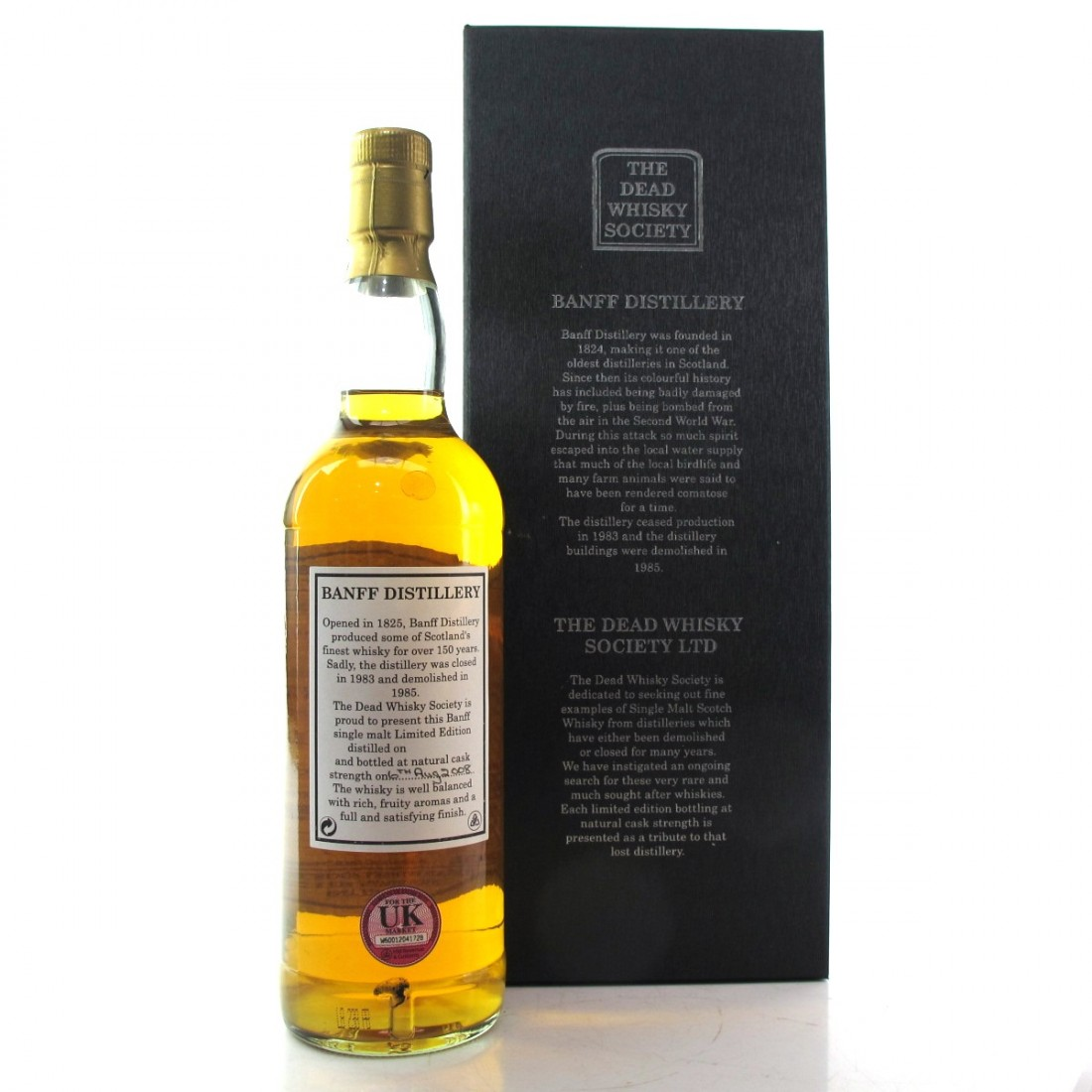 Banff 1971 Dead Whisky Society 37 Year Old