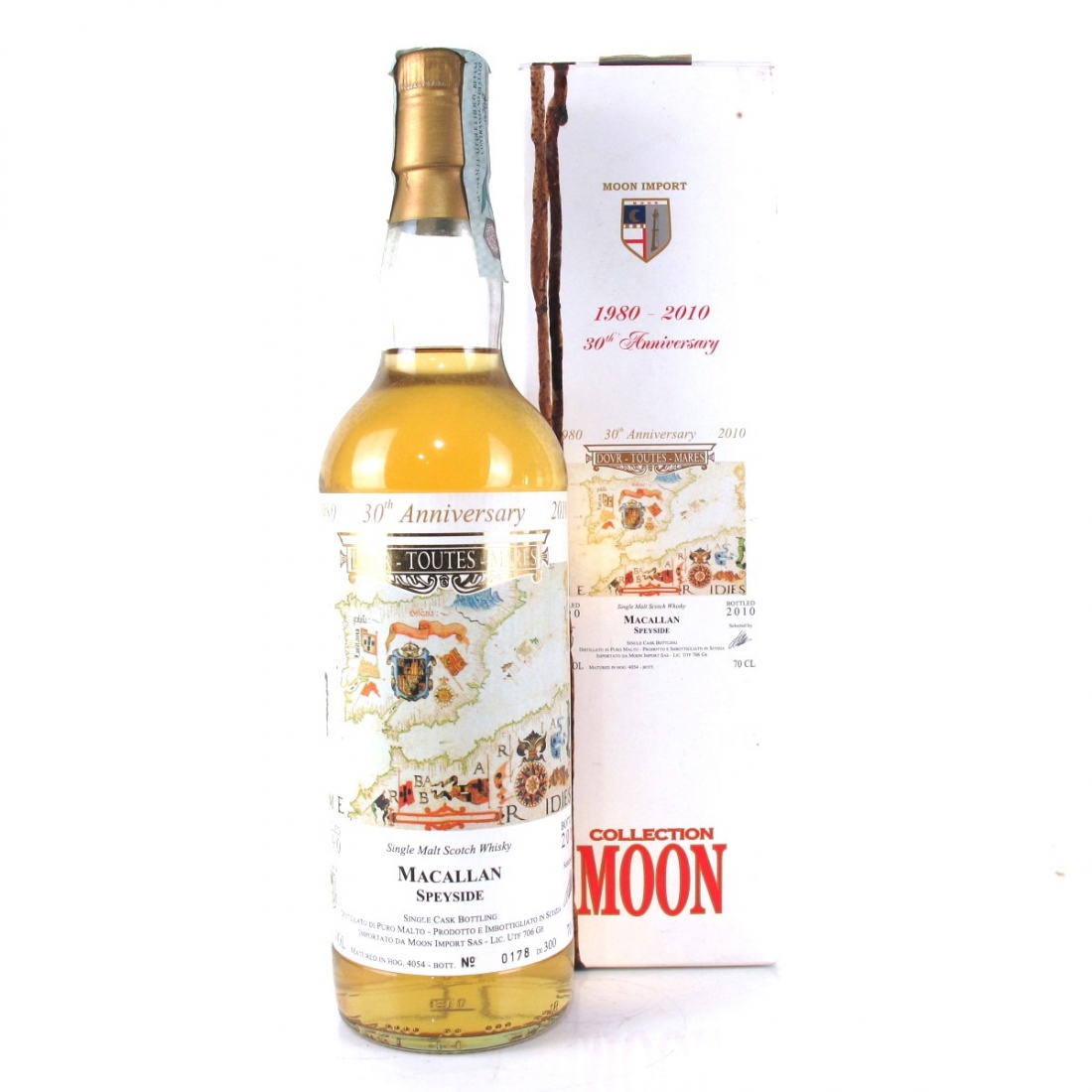 Macallan 1990 Moon Import 30th Anniversary
