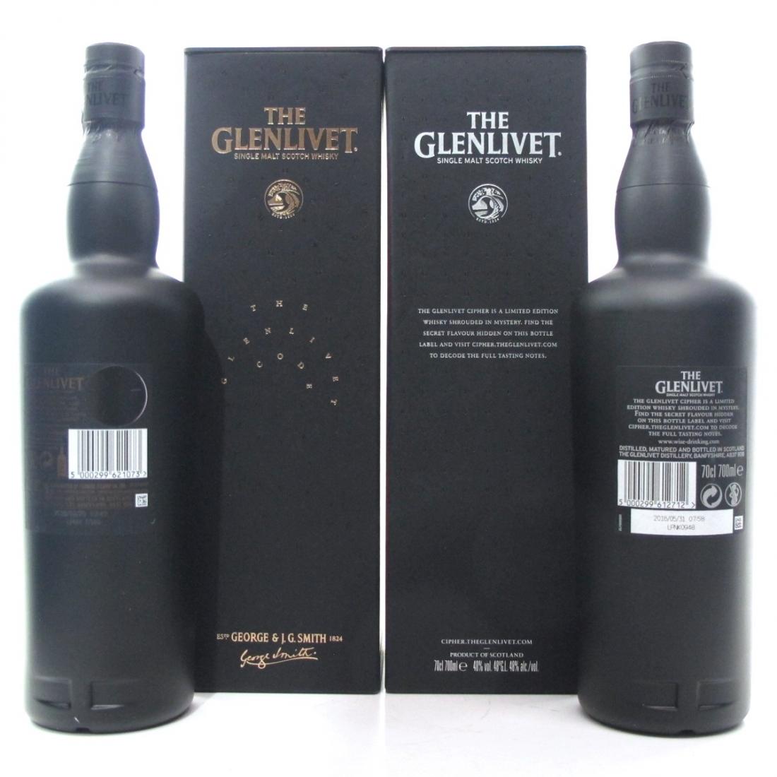 Glenlivet Cipher and Glenlivet Code / 2 x 70cl