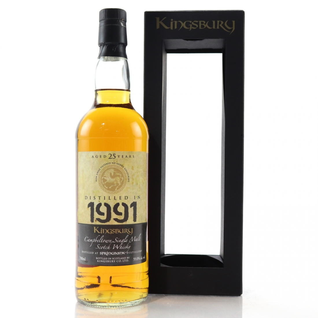 Springbank 1991 Kingsbury 25 Year Old
