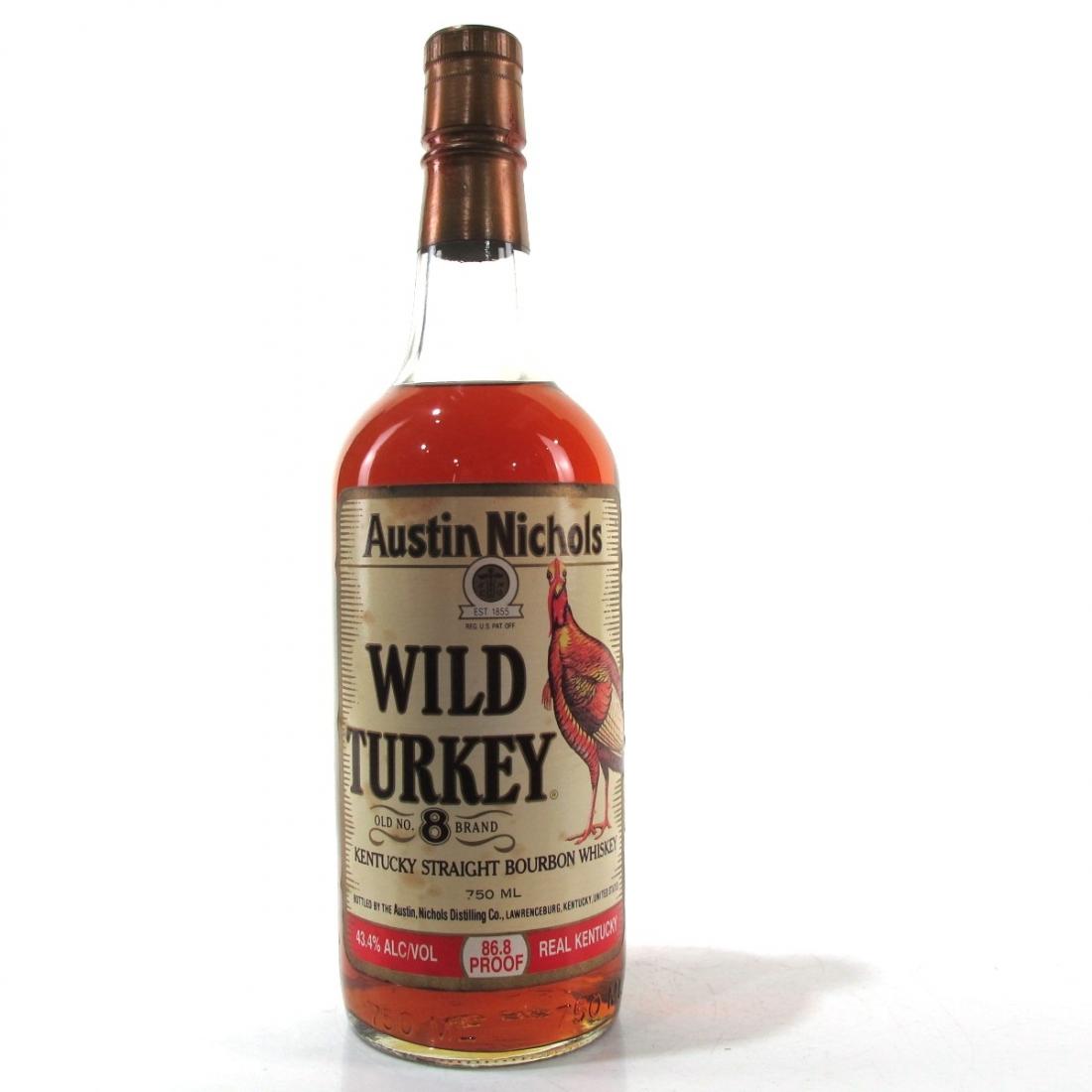 Wild Turkey Old No.8 1990s